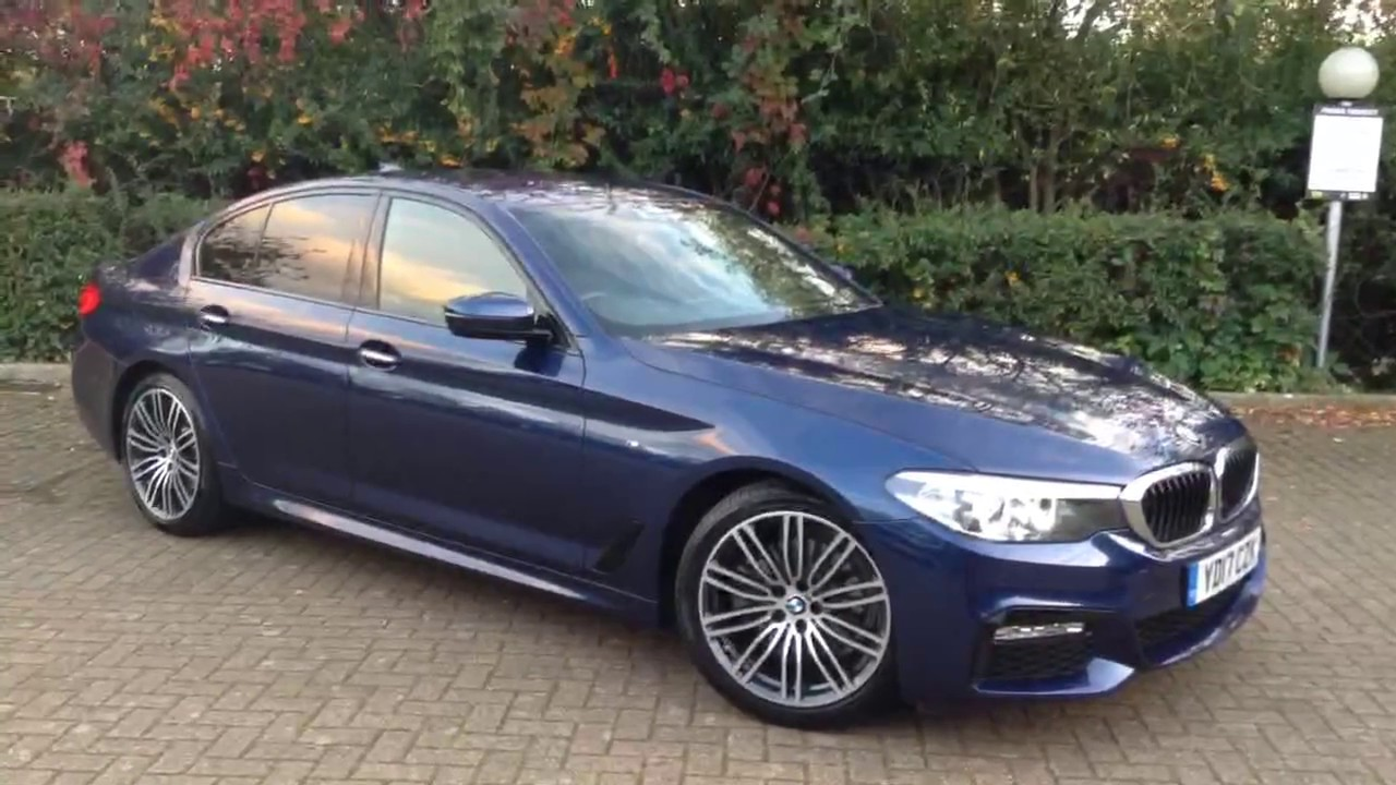 2017 BMW 520d M Sport (G30) - YouTube