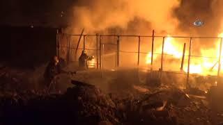 Bursa'da Tüp Deposunda Patlama! Depo Kullanılamaz Hale Geldi
