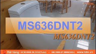 Giới thiệu bồn cầu TOTO MS636DT2 MS636DT8 chi tiết nhất