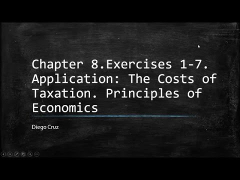 Chapter 8 Exercises 1 7 Principle Of Economics YouTube