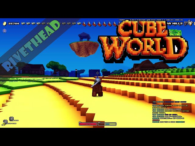 "Cube World Season 13 - E18 -""Going For Gold in a New World!"""