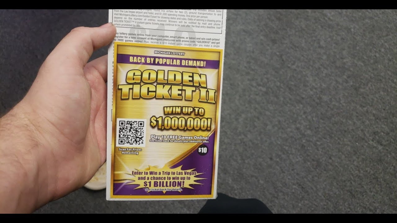 GROUP BOOK OF GOLDEN TICKETS! MICHIGAN LOTTERY