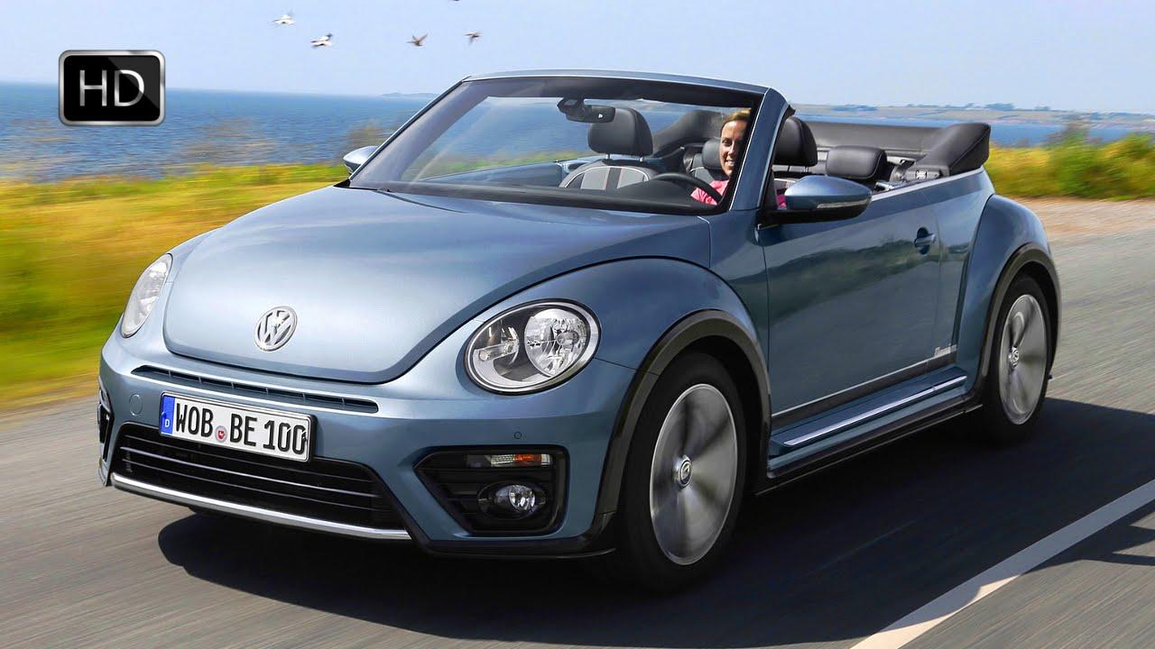 2017 Volkswagen Beetle Convertible Denim Edition Exterior Interior Road Drive Hd