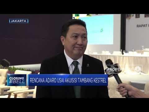 Presdir Adaro Ungkap Strategi Ekspansi Perusahaan