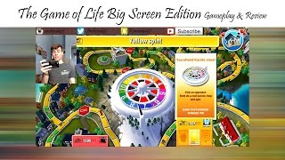THE GAME OF LIFE: Big Screen Edition - Gameplay & Review
