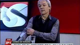 Video Dr.John Ewer -CINV canal 24 Horas - 26 junio 2015