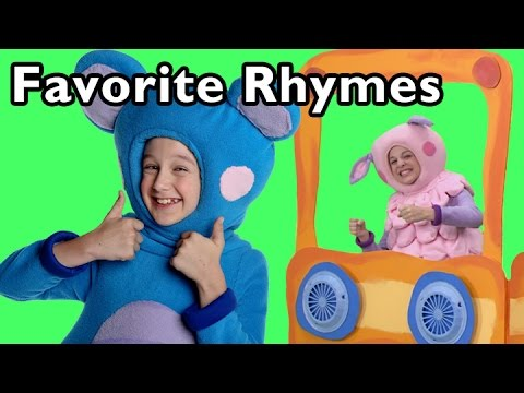 The Wheels on the Bus and More Favorite Rhymes   Nursery Rhymes from Mother Goose Club