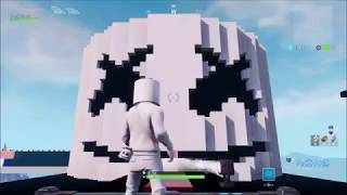 Marshmello Fortnite Alone Music tiles