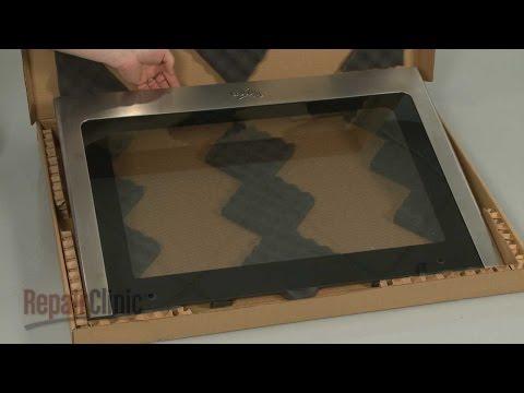 Outer Door Glass - Whirlpool Gas Range