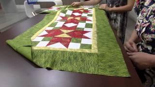 Centro de Mesa Natal Patchwork por Maria Elisa Fumache – Parte 2