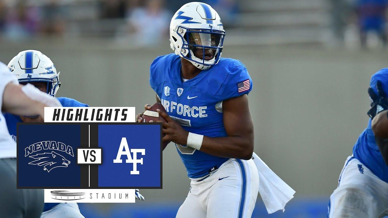 Navy vs. Air Force Football Highlights (2018) | Stadium ...