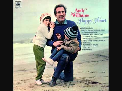 My Coloring Book Lyrics Andy Williams : Andy Williams For Once In My Life K POP Lyrics Song