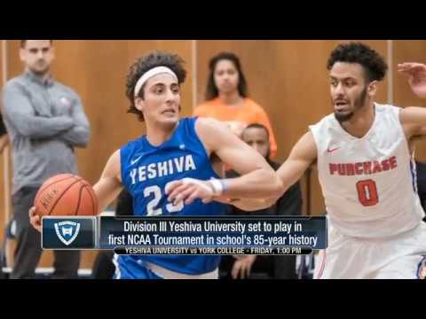 Yeshiva University makes NCAA Division III Tournament for 1st time