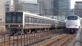 2019.3.14  JR西日本 梅田貨物線で折り返す 207系 試運転 JRおおさか東線