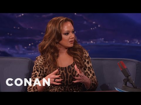 Leah Remini On Scientology's Relationship To Media  - CONAN on TBS