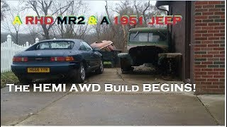Right Hand Drive MR2 Roadtrip & AWD v8 Trucks! 5.0L & 5.7 HEMI