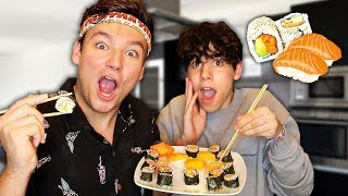 ON A ESSAYÉ DE FAIRE DES SUSHIS!! ft Sulivan Gwed
