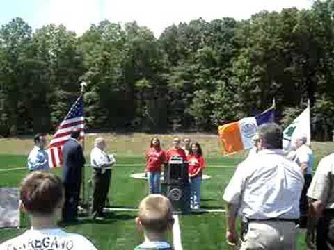 KOS Sings the National Anthem