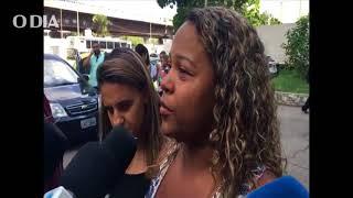 Cristiane Barbosa Macedo, mãe da estudante Soraia Macedo, morta na Ilha do Governador