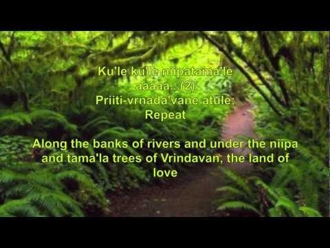 Krishna Song - Prabhat Samgiita - Vrindavanam Parityajya #4425