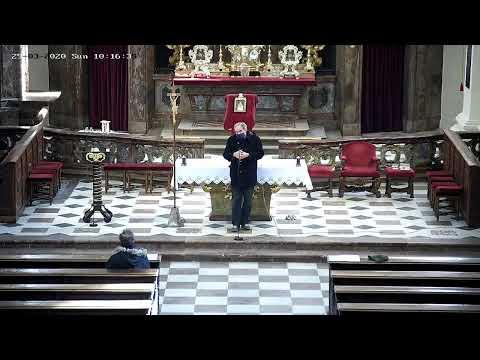 Přímý přenos mše z kostela Nanebevzetí Panny Marie ve Staré Boleslavi