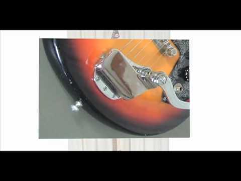teisco vegas 40 hollow body electric guitar doovi. Black Bedroom Furniture Sets. Home Design Ideas