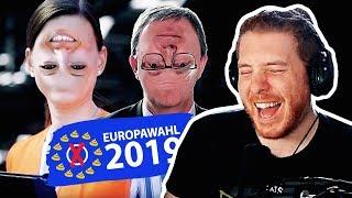 Unge REAGIERT auf Wahlwerbung YouTube Kacke - Lachflash! | #ungeklickt