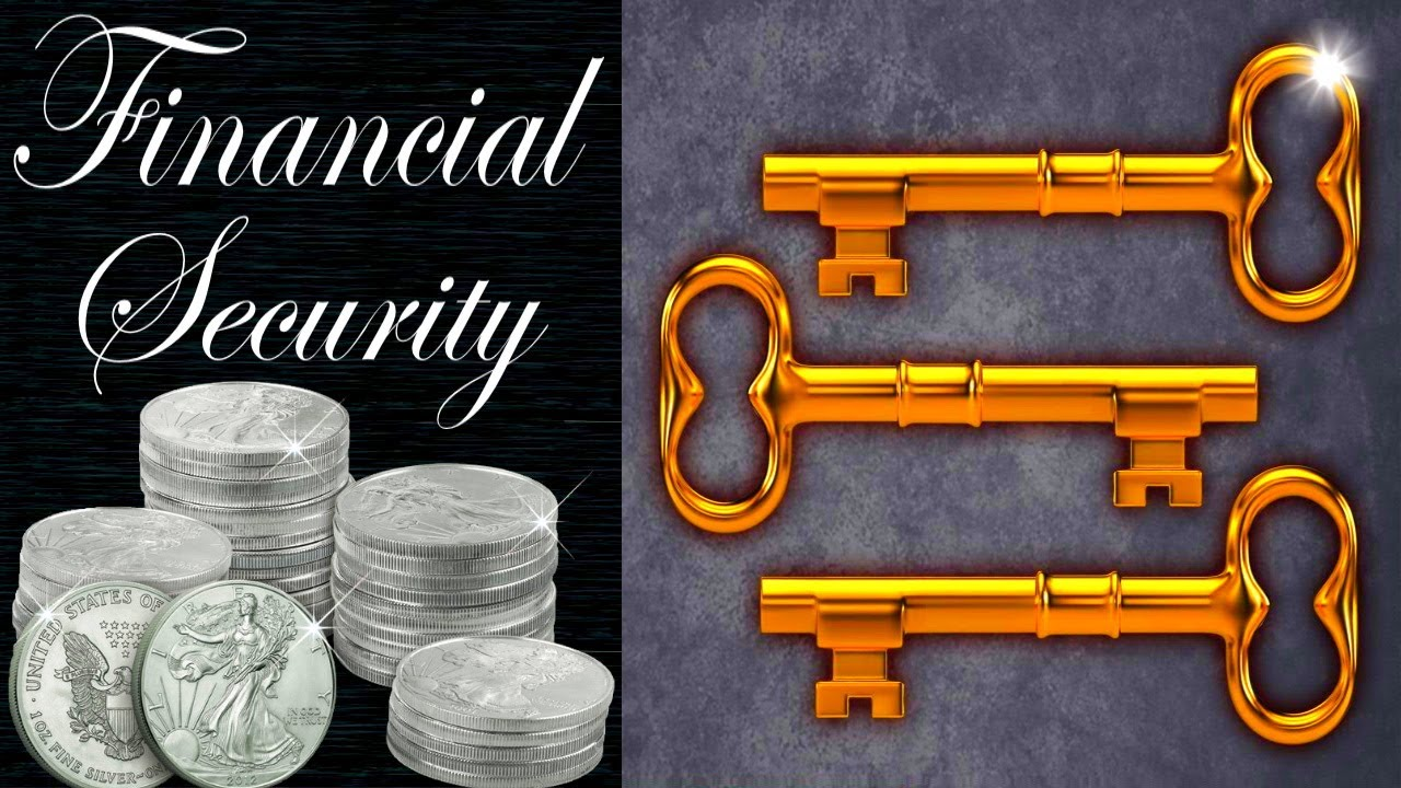 3 Keys to Financial Security - Saving, Spending, and Silver (No mystery about it!)