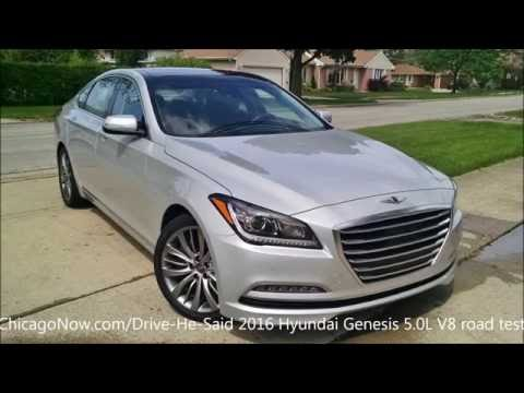 Thumbnail image for '2016 Hyundai Genesis 5.0L sedan - Pre- Rebranding, Luxury Muscle Value - Video Clip, Review'