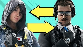 Rainbow Six Siege Operators Swapping Roles! | The Leaderboard