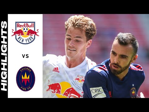 New York Red Bulls Chicago Goals And Highlights