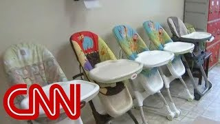 See inside immigration detention center