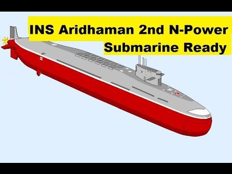 INS Aridhaman, Second Arihant Class Ballistic Missile Submarine