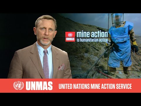 UNMAS Global Advocate Daniel Craig's message on Mine Action Day