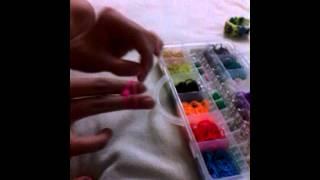 Браслеты из Rainbow Loom.