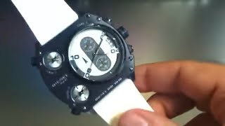 Diesel DZ4199 Oversized 3 Time Zone Chrono Watch