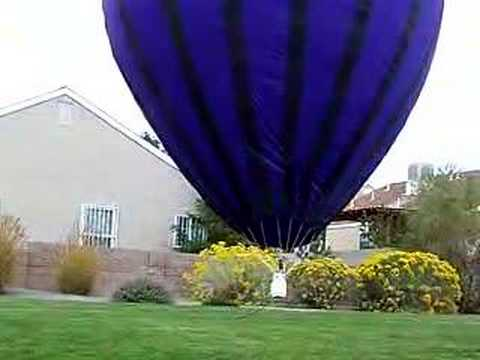Homemade RC hot air balloon - YouTube