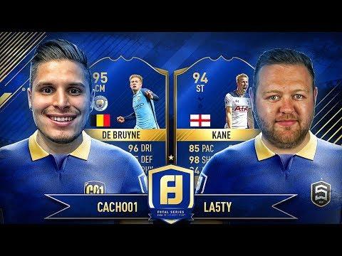 DE BRUYNE TOTS F8TAL VS KANE TOTS!! | CACHO VS LA5TY | FIFA 17