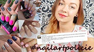 I krátké nehty mohou vypadat krásně! // #nailartpolicie 2.díl