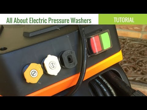 Using Electric Pressure Washers / Power Washers | The Gardening Products Review