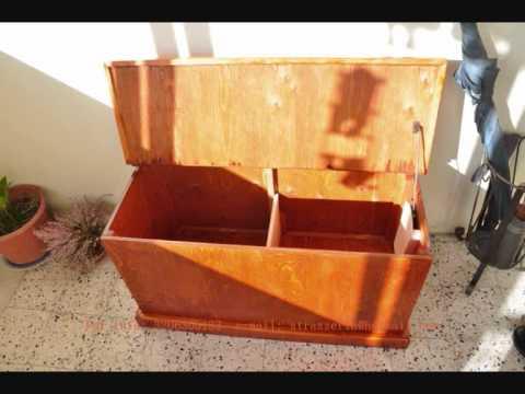 Come Costruire Una Cassapanca Sarda.Falegnameria Artigianale Youtube