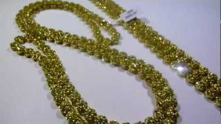 lemonade combo 9 lab made yellow diamond cluster chain3 row bracelet video gucci mane jewelry