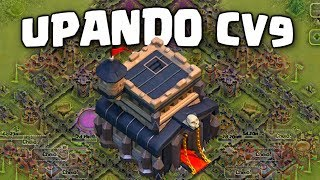 CV9 O QUE UPAR PRIMEIRO? PARTICIPE DO CLÃ SIMPSON GAMER, VILA DO CONSTRUTOR , CLASH OF CLANS