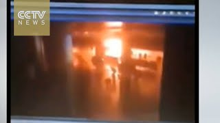 Unverified security camera footage shows bombing at Istanbul airport thumbnail