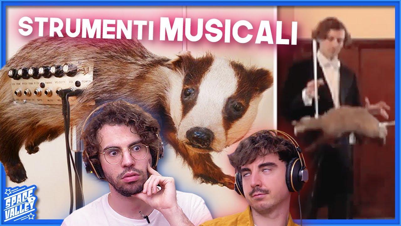 10 Strumenti Musicali MAI VISTI!