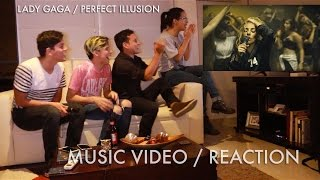 Lady Gaga - Perfect Illusion MUSIC VIDEO (Reaction) | Radio JOANNE