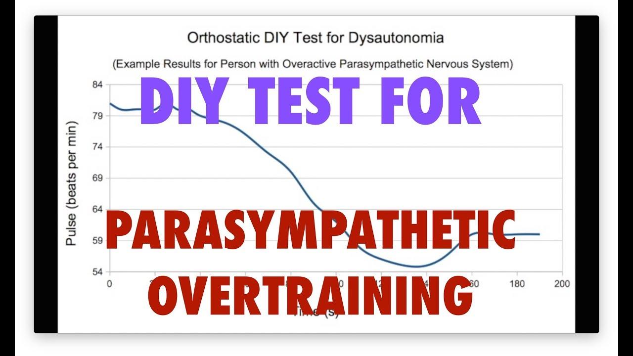 DIY Orthostatic Pulse Test for Overactive Parasympathetic Nervous ...