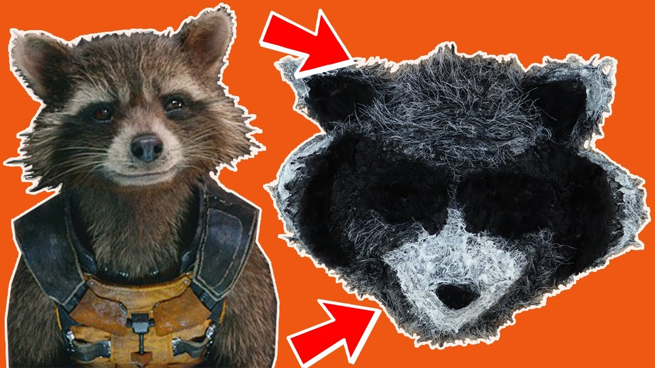 how to make a rocket mask guardians of the galaxy crafts