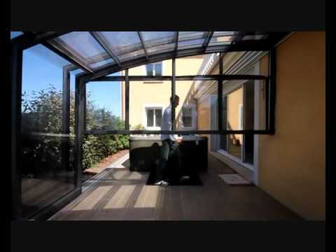 veranda retractable sesame verando spa youtube. Black Bedroom Furniture Sets. Home Design Ideas