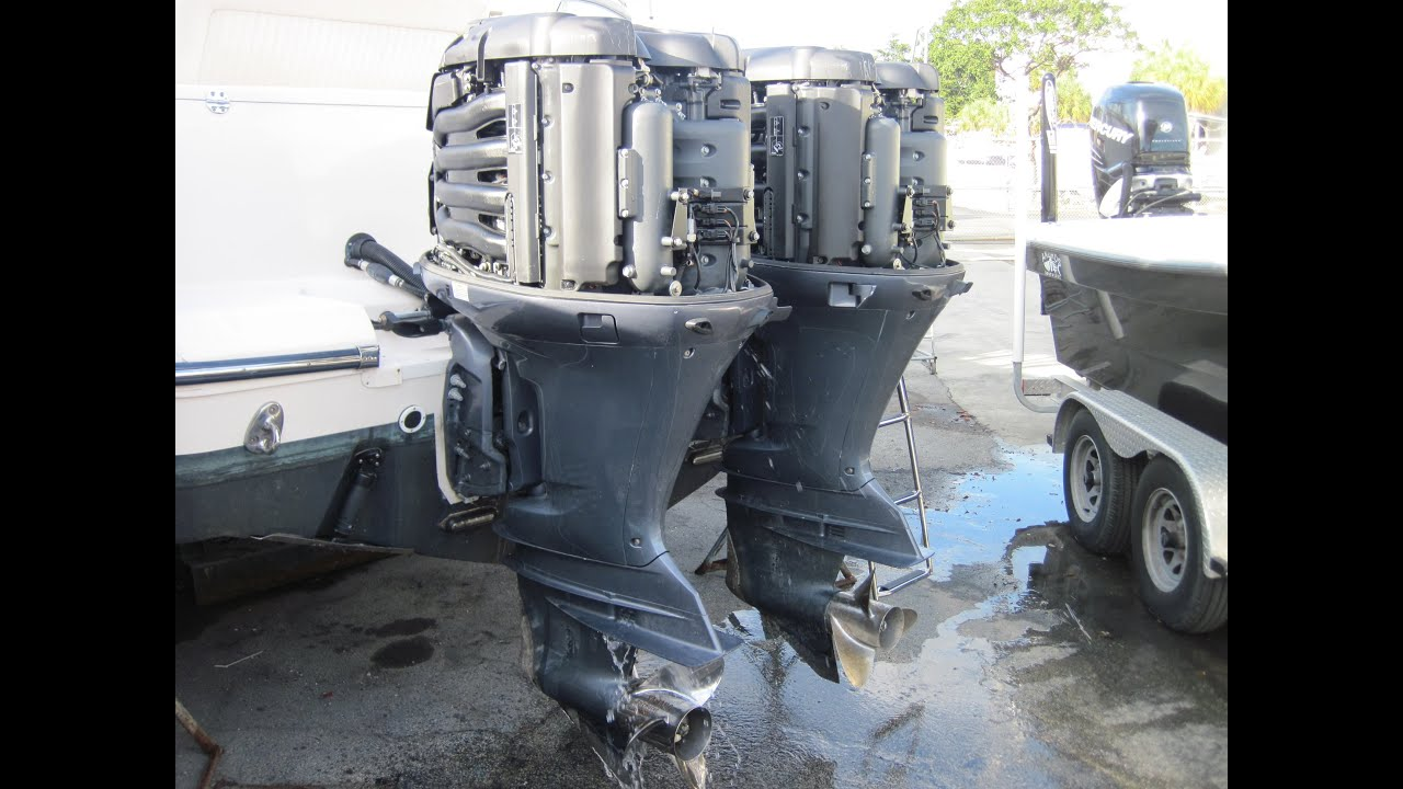Two 2011 Yamaha 350 Hp Outboard Engines Marine Surveyor